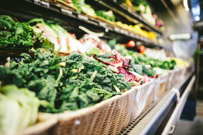 vegetable produce in store