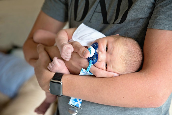 new dad with neonate, inspiration for a funny dad joke